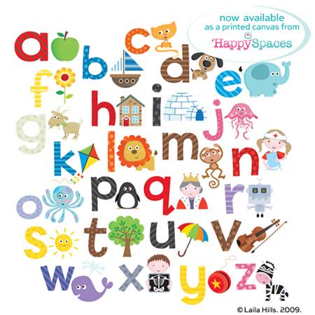 Z Alphabet Images cute alphabet | Laila Hills Illustration and Design