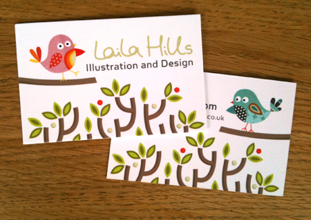 Business cards laila hills illustration and design tagsbusiness colourmoves