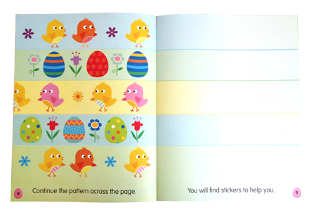 Easter draw pattern pg pic