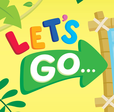 Lets go logo detail