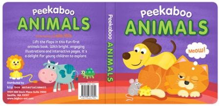 Peekaboo Animals Cover