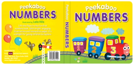 Peekaboo Numbers Cover