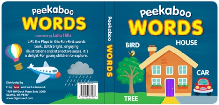 Peekaboo Words Cover