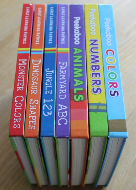 big box book spines