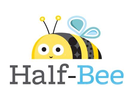 Half-Bee Logo