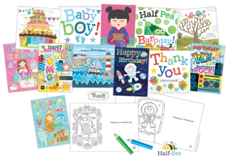 Baby boy sq card new