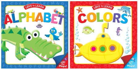 LTFlap Aphabet and Colors covers