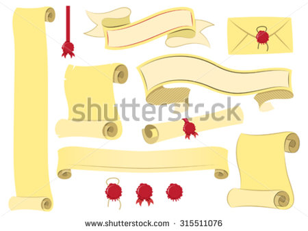 stock-vector-vector-scroll-and-parchment-banners-315511076