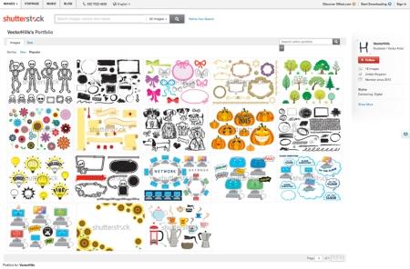 VectorHills Shutterstock portfolio pic